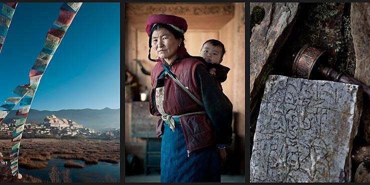 Shangri-La Tibetan woman