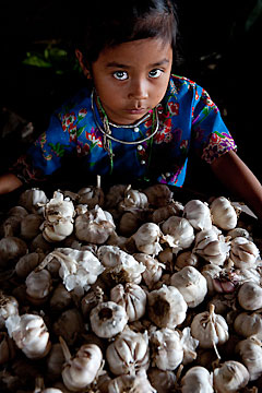 Miao ethnic minority girl